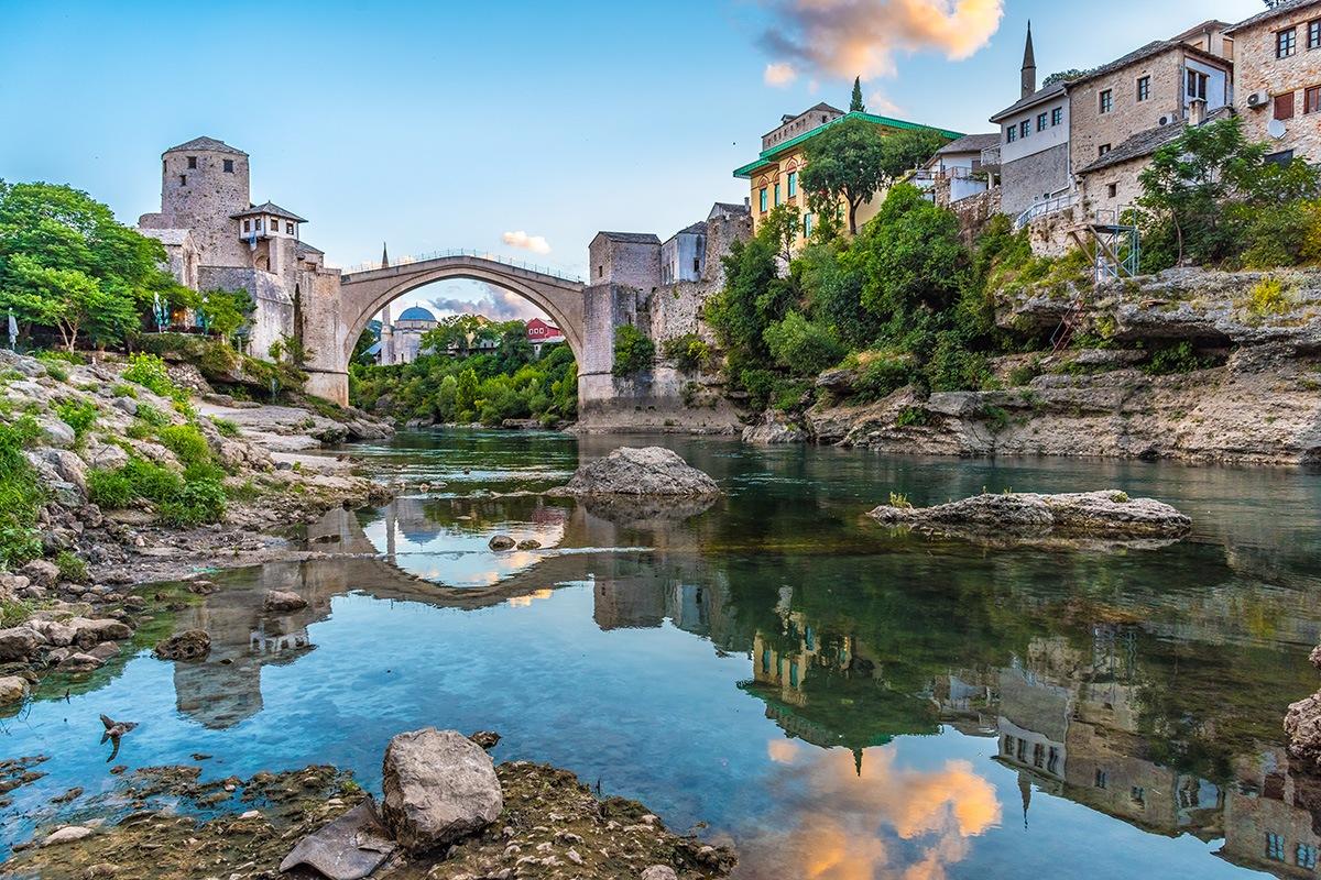 Stari Most Bridge , Mostar, Bosnia and Herzegovina