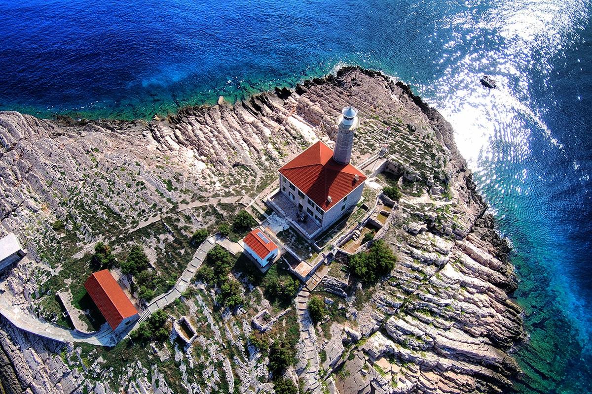 Blitvenica lighthouse Croatia