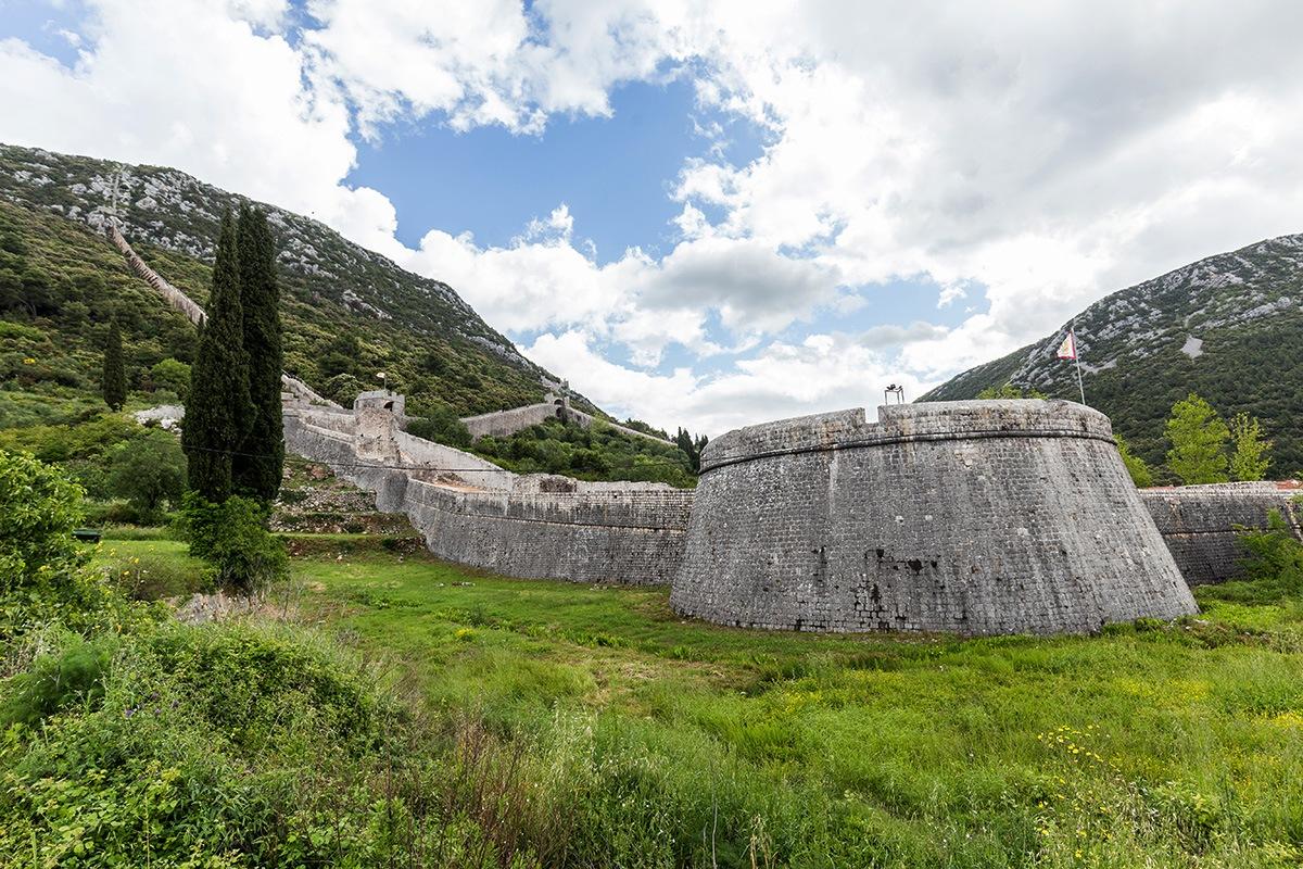 Stol walls Dubrovnik