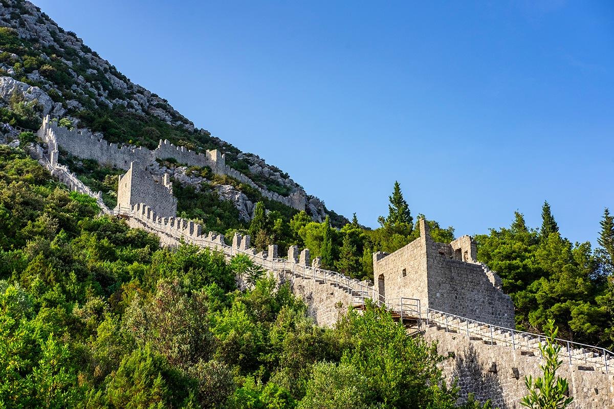 Sistema di fortificazione Ston Croatia Dubrovnik