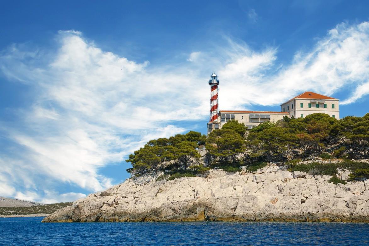 Tajer lighthouse, croatia, adriatic