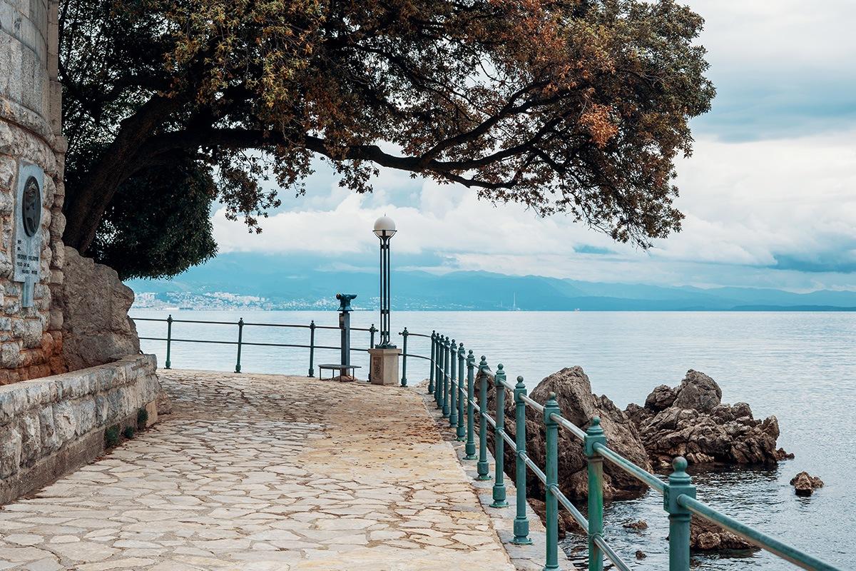 opatija promenade riva lungomare