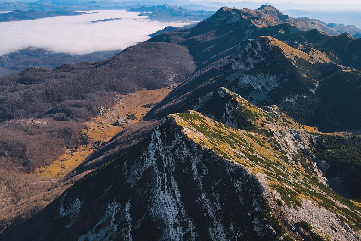 ski vrh paklenica national park velebit