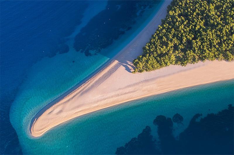 Bol, Brac, croatia beach