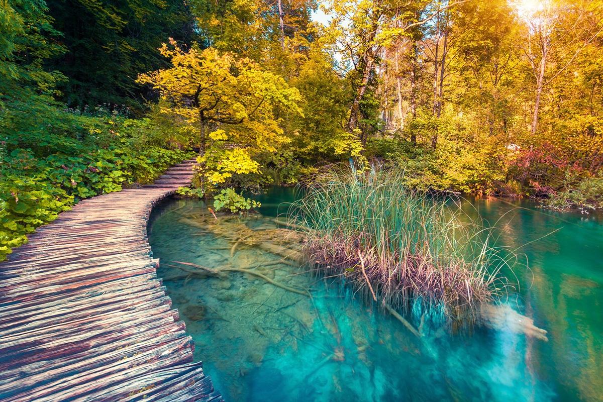 plitvice lakes spring