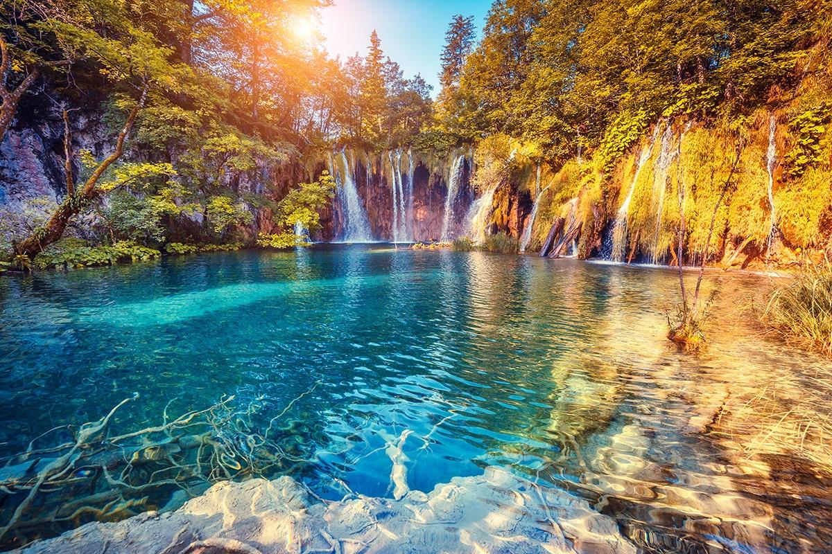 plitvice nature park croatia
