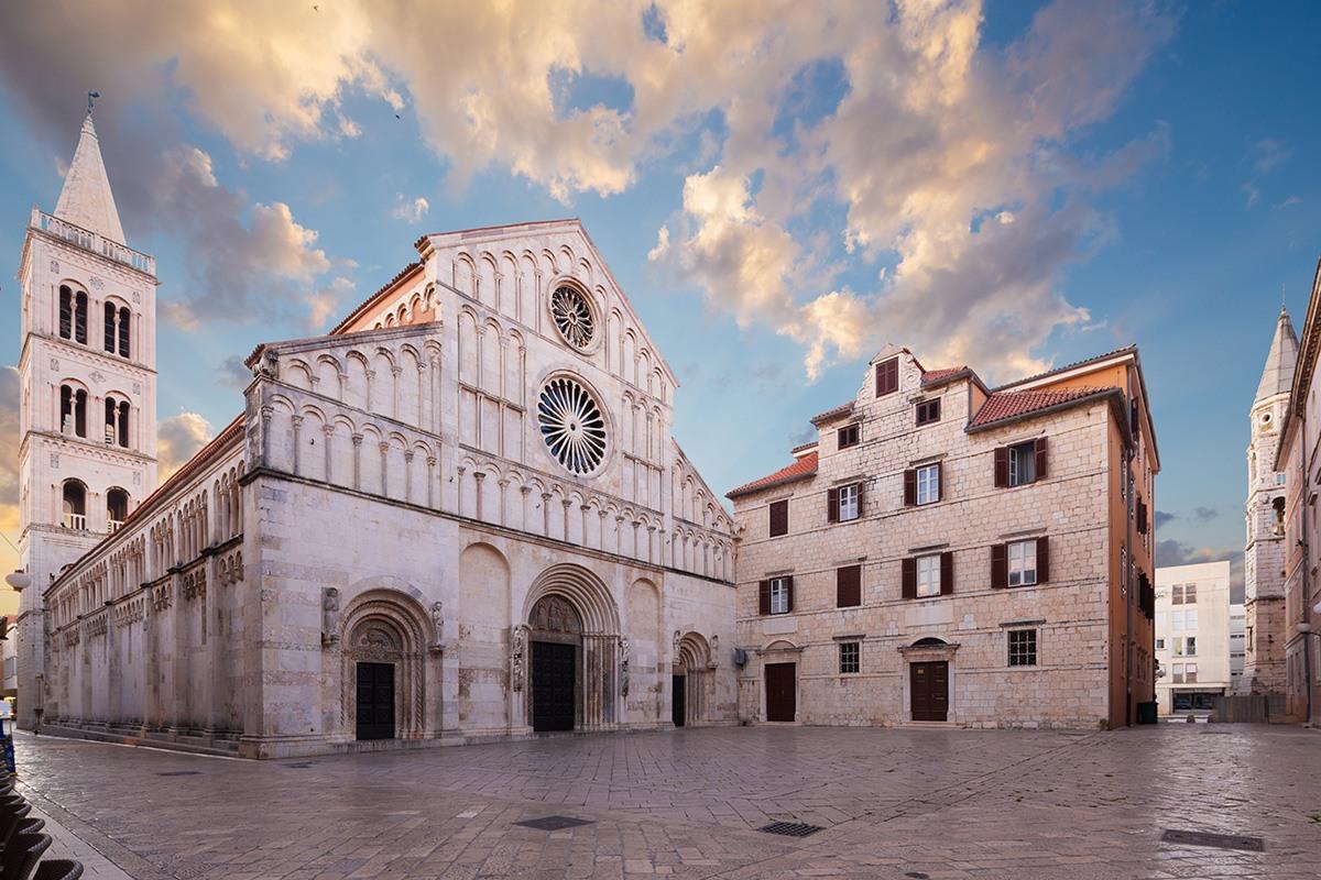 Cathedral of St. Anastasia, Zadar, Croatia