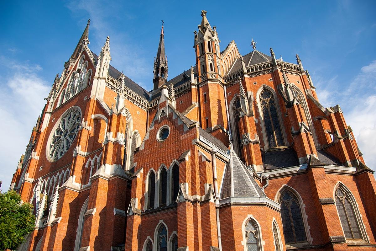 Cathedral of St. Peter and Paul, Osijek, croatia