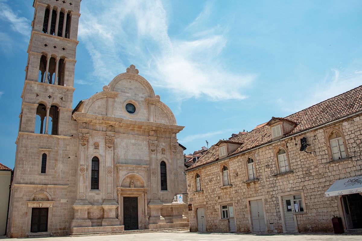 Cathedral of St. Stephen, Hvar, Croatia