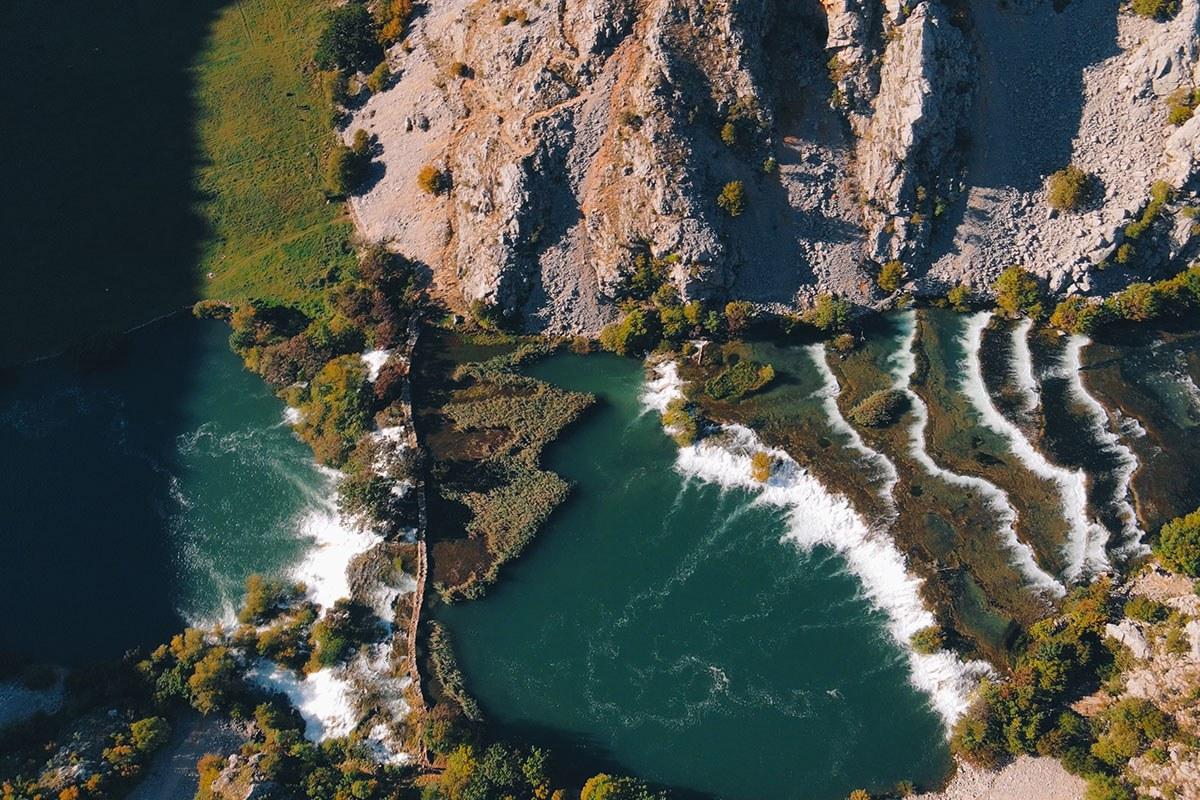 Krupa river in croatia, Zrmanja