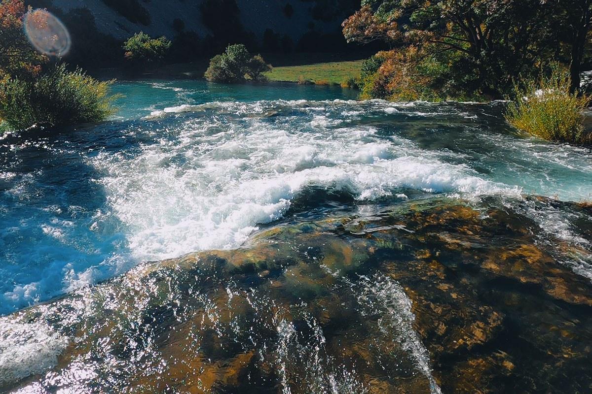 River Krupa and Zrmanja croatia
