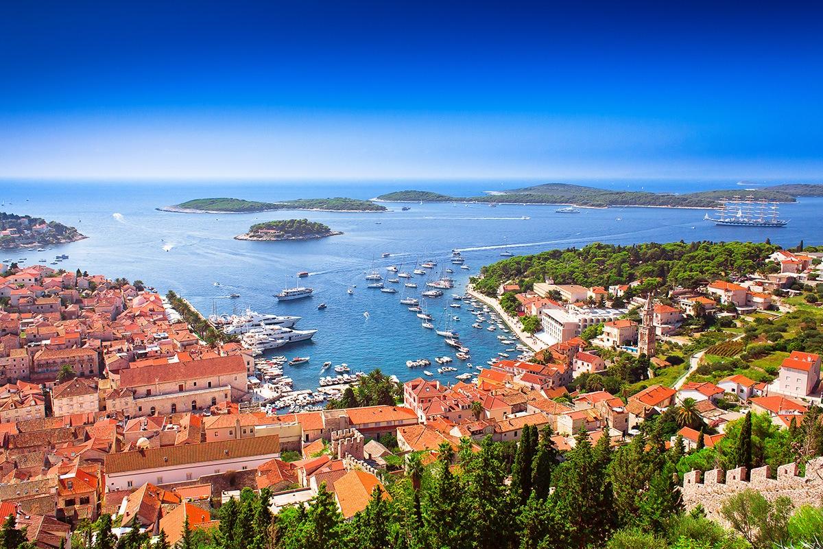Hvar island. Croatia