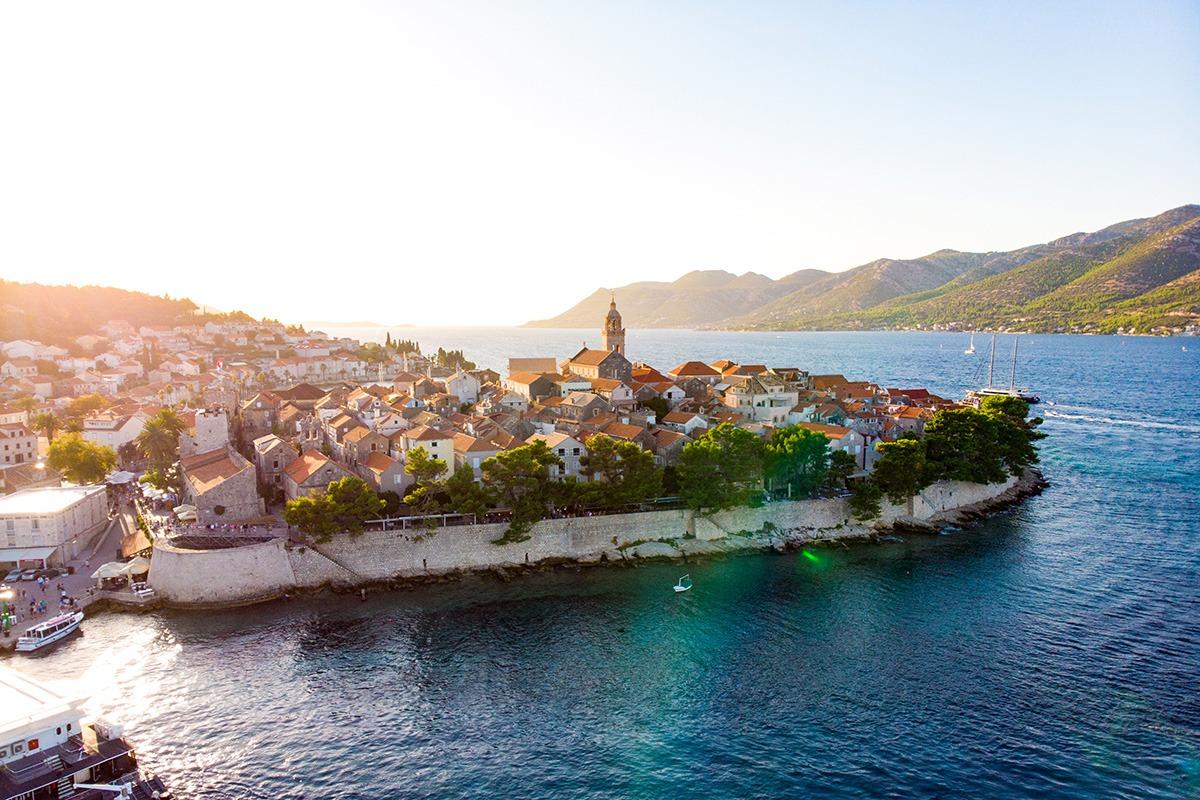 Korčula island and town, Croatia