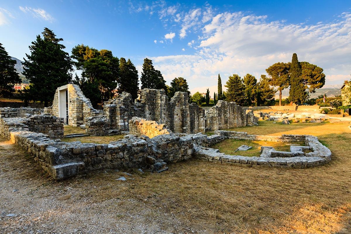 Salona Roman ruins, Split, Solin, Croatia