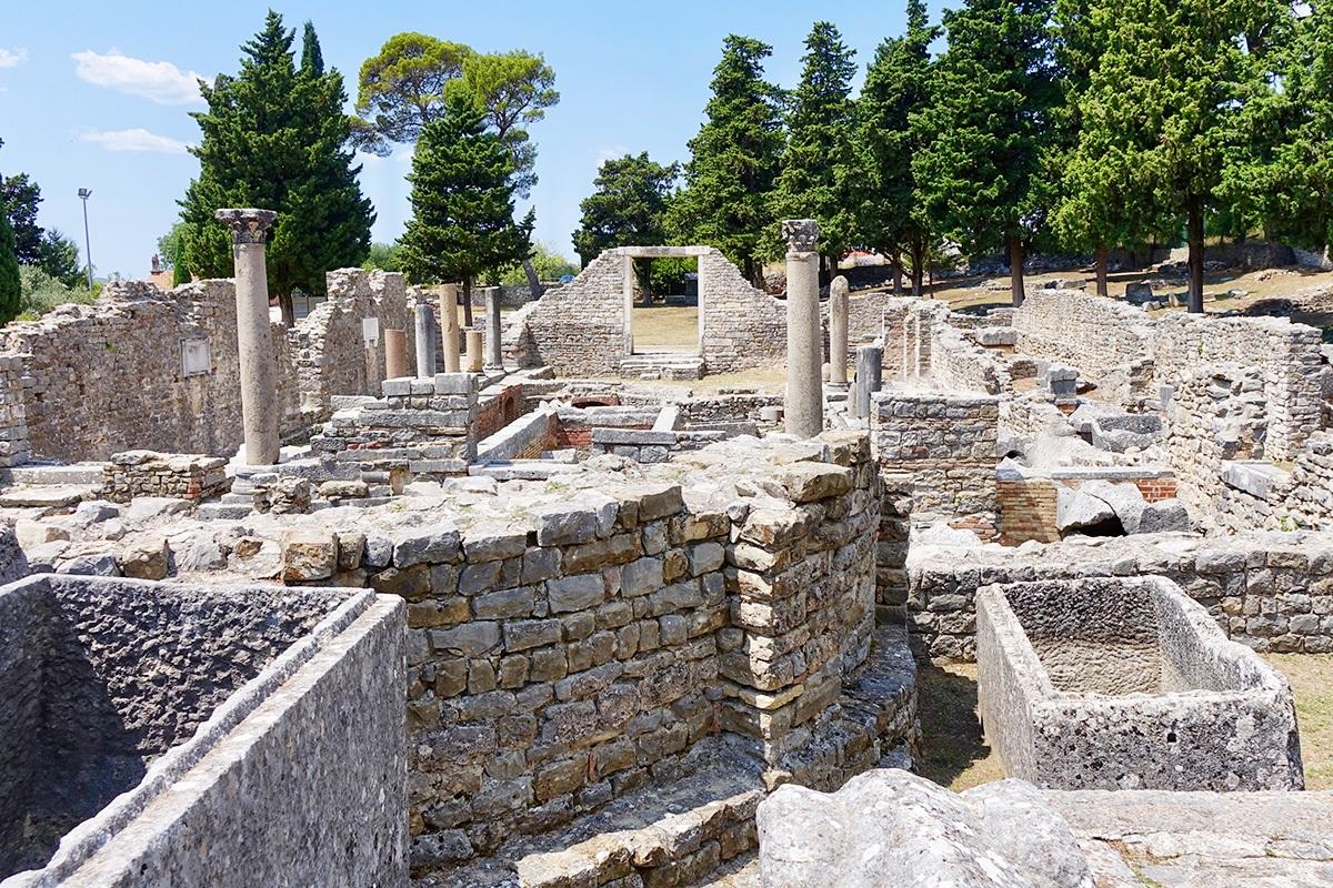 Salona, Split, Roman palace and house