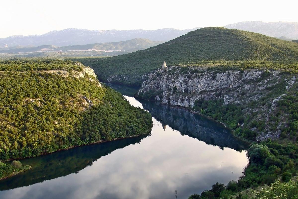 Cetina River and canyon