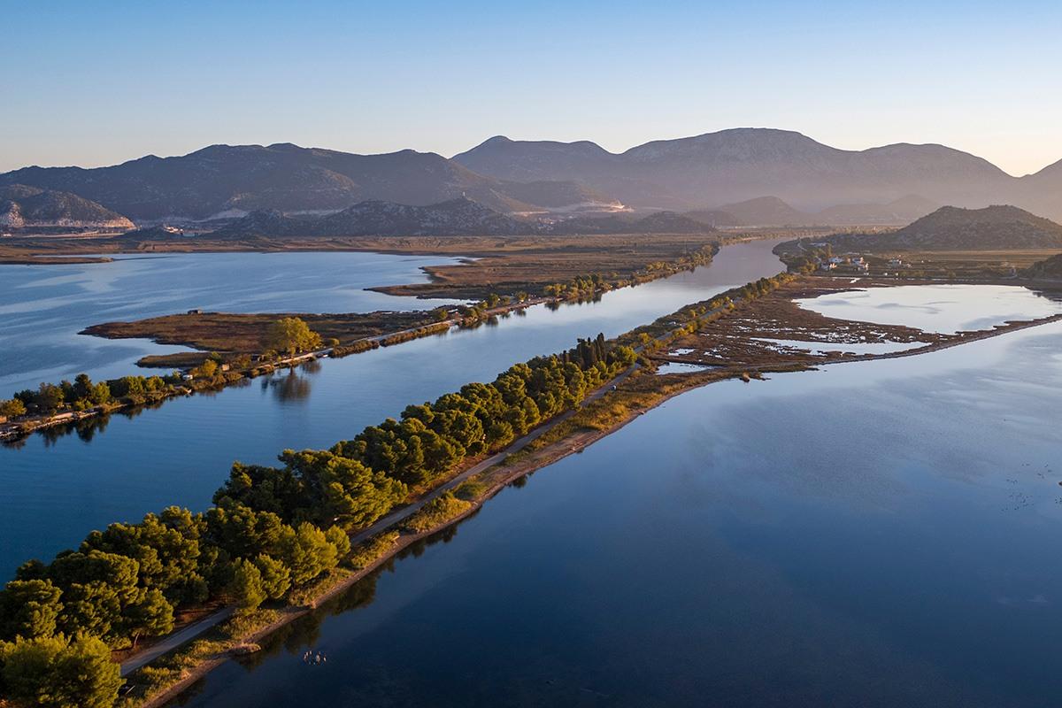 Neretva River Croatia