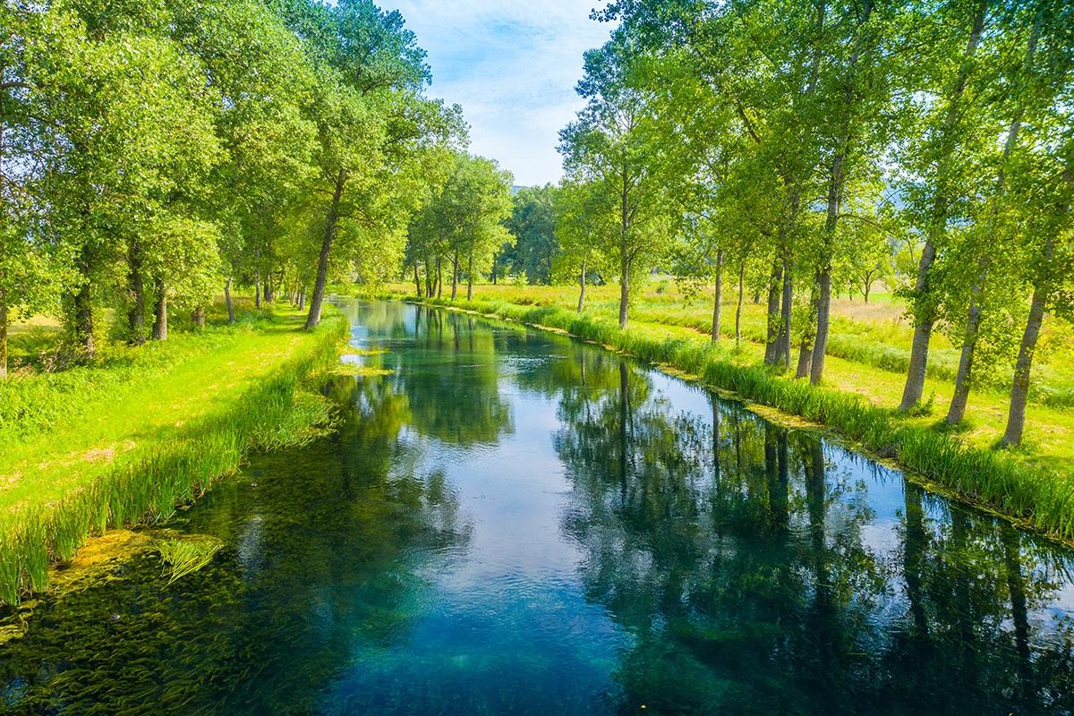 River Gacka, Valley, Croatia