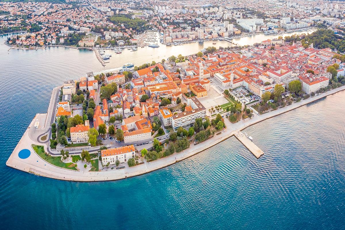 Zadar, Poluotok, Promenade